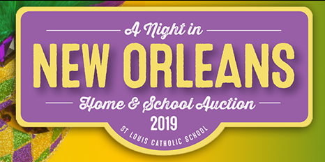 A Night in New Orleans–St. Louis Catholic School Auction