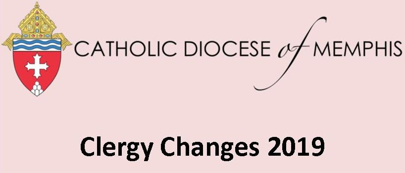 Clergy Changes 2019