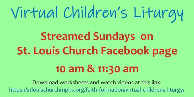 Virtual Children's Liturgy