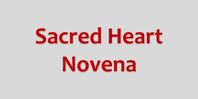 Novena to the Sacred Heart